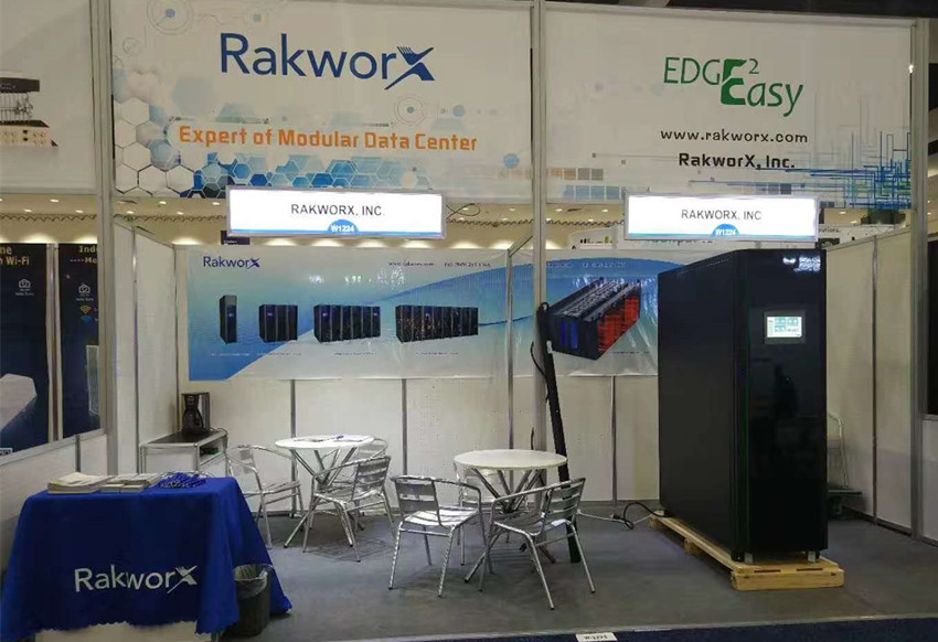 RakworX at MWC Americas 2018 in Los Angeles