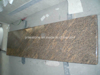Giallo California Gold Granite Kitchen Countertops