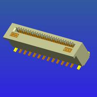 0.5mm间距无锁立贴式FPC