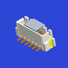 2.5mm spacing XHB vertical connector