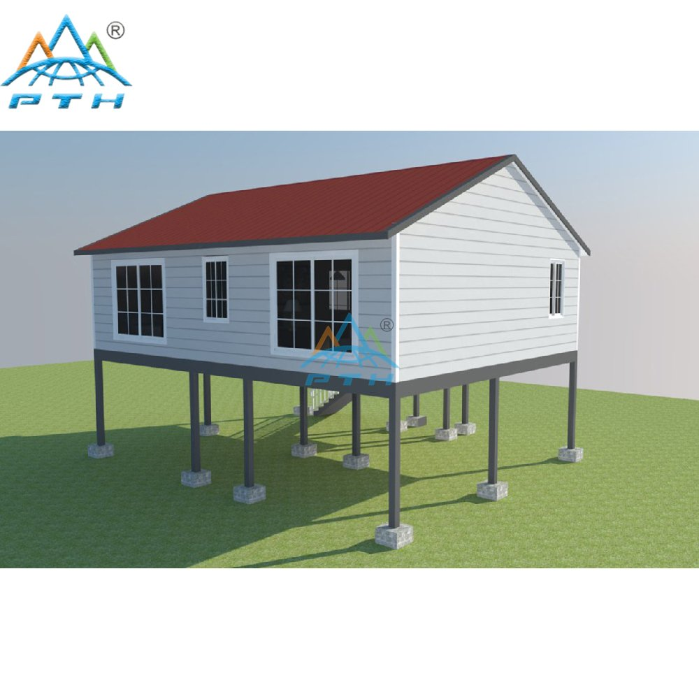 Low Cost Prefab Villas Light Steel Frame Home from China ...