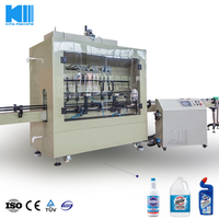 Antiseptic Plastic Bottle Filling Machine
