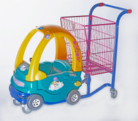 Plastic Kid Trolley with Basket