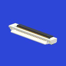 1.0mm间距3.1高前插后掀式FPC