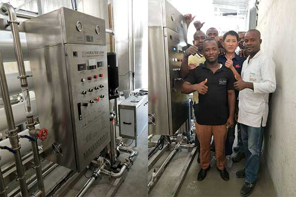 Cote d'Ivoire Customer Built a water treatment plant