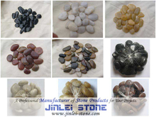 Natural Cobble Stone / River Rock Pebbles for Landscaping (JL-P01)