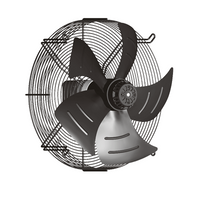 axial fan with external rotor motors
