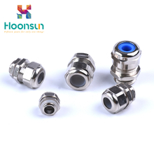waterproof ip68 m type brass cable gland connector