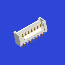 PH2.0mm间距单排带扣T5曲针
