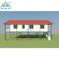 Prefabricated Luxury Light Steel Villa With 4 Bedroom