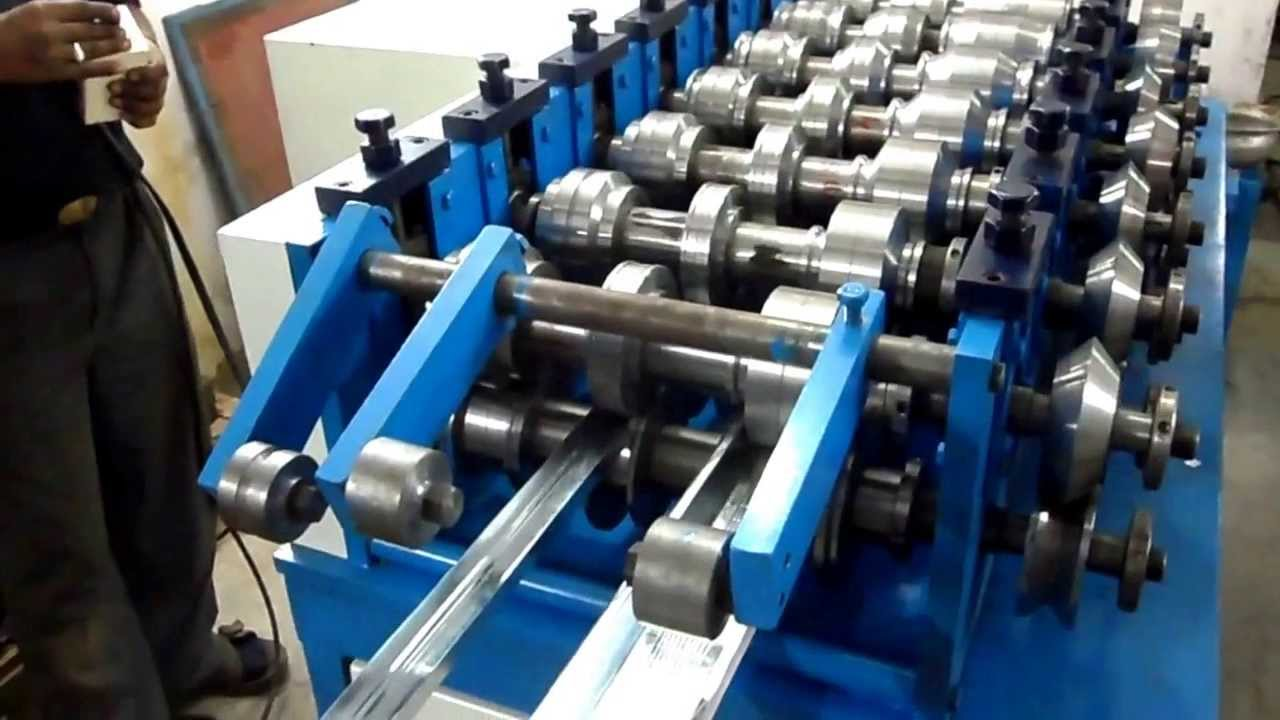 Cold Rolling Door Frame Forming Machine