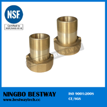 No Lead Brass Water Meter Connector Fittings