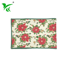 Custom made China Square Home Decor Jacquard woven floor mat