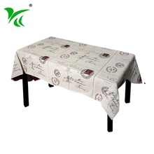 Wholesale Polyester Home Decoration embroidered tablecloth