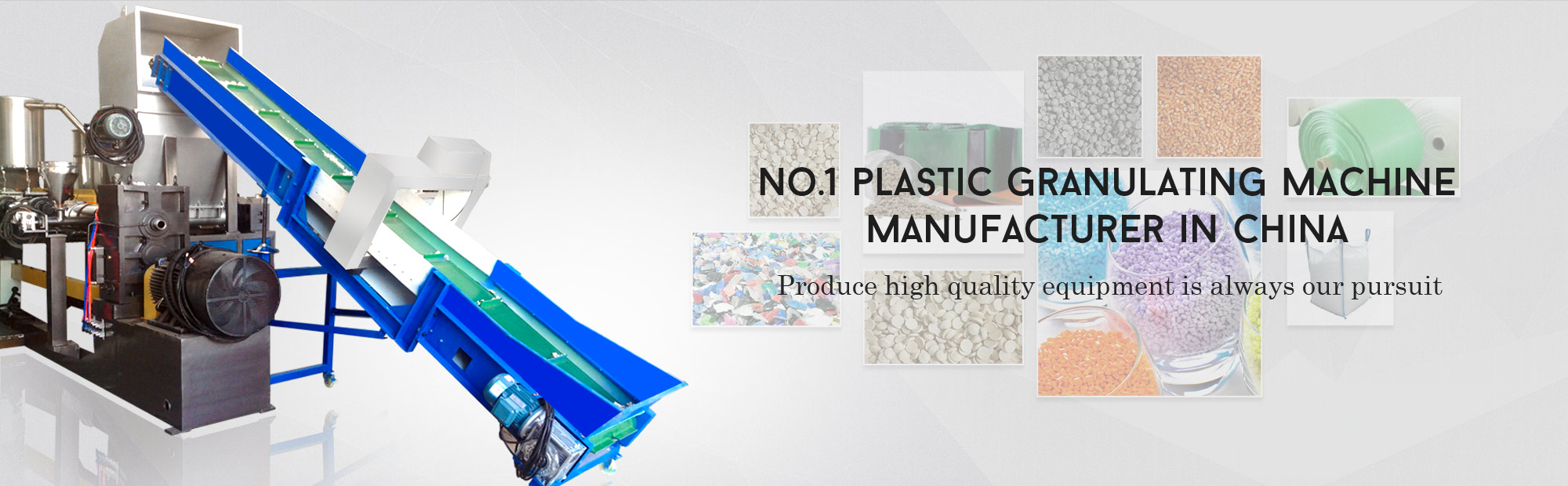 plastic recycling granulating line