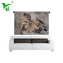 Factory directly custom design home decoration cotton woven wall hanging