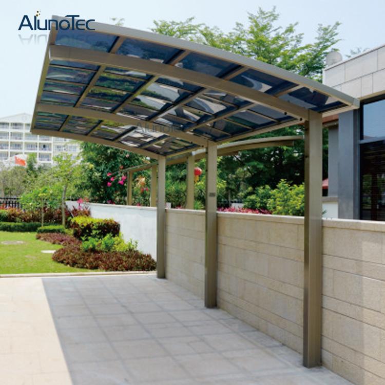Outdoor Polycarbonate Aluminum M Style Carport for Car Garage - Buy ...