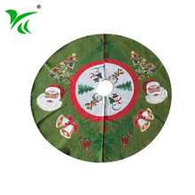 Custominzed most popular inexpensive large red christmas tree skirt