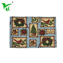 Promotional gifts good quality inexpensive Jacquard woven table placemat