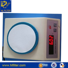 Polyester needle felt for dust collector