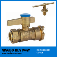 Best Performance Brass Ball Valve with Locking Handle (BW-L01)
