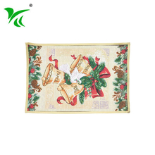 Wholesale custom restaurant Jacquard woven office floor mat