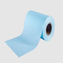 spunlace technical woodpulp nonwoven fabric rolls for medical use wiping cloth