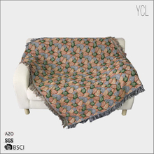 Jacquard Woven Throw And Blanket