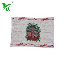 Hangzhou supplier wholesale woven tapestry mats and coasters table placemat