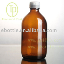 TP-1-17 500ml amber bottle with stopper and cap