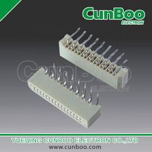 1.0-B-nPW 1.0mm pitch FPC connector, single contact ,dip type ,90 degrees