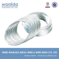 High quality galvanized spring steel wire of 2.5 mm for sale