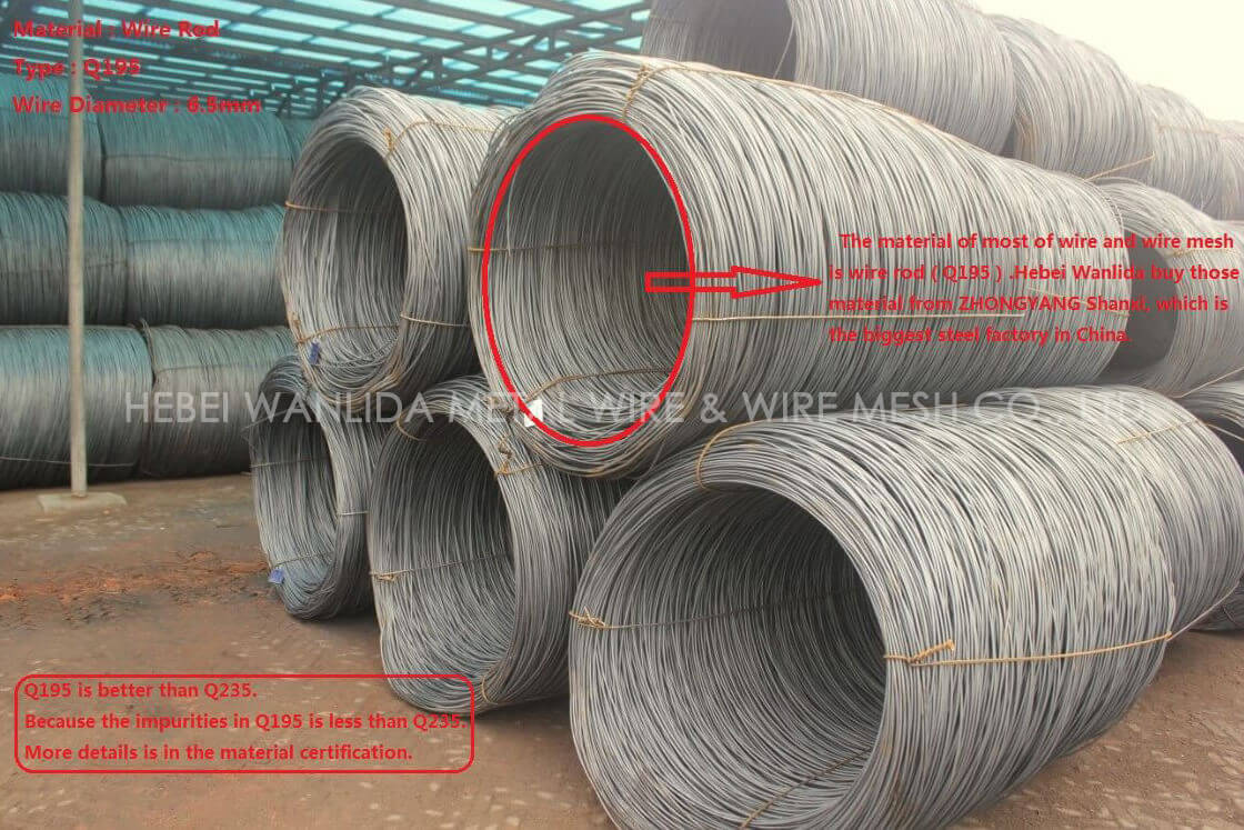 High quality galvanised mild carbon steel wire provider