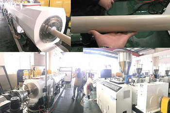 Can agriculture pipe be made by PVC PP pipe making production line ?