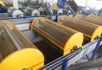 PE PP bottle drum washing recycling line