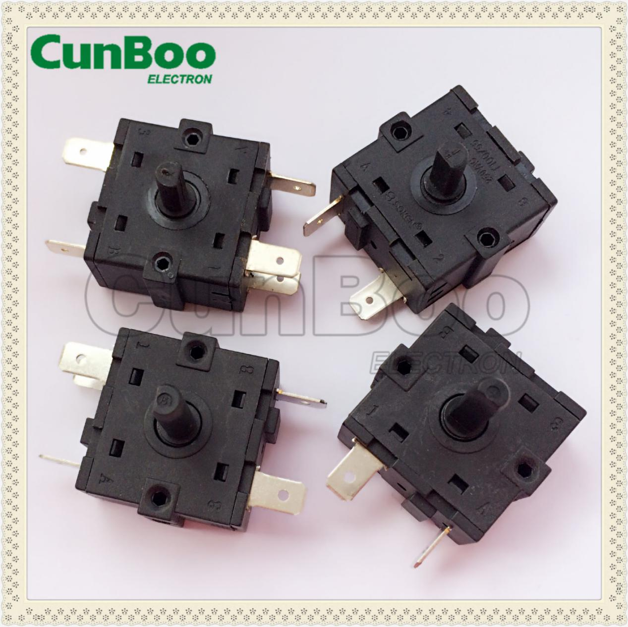 XCK-240B 3 positions rotary switch