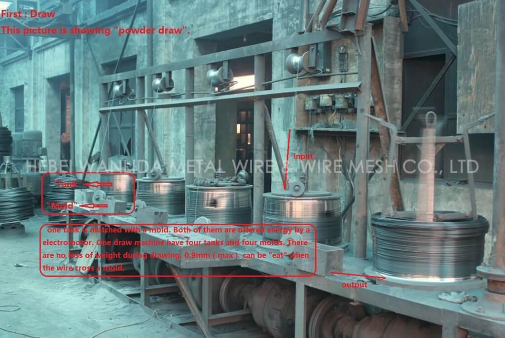 500 KG galvanized steel wire 3.5 mm ( BV Certification )