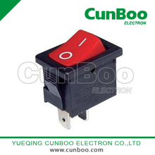 KCD1-102 on-off rocker switch 6A
