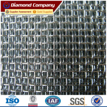 Diamond brand galvanized iron inset window screen price (factory sale)