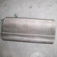 Titanium Mesh Air Load on Filter