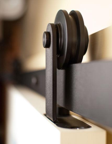 Top of Door Sliding Barn Door Hardware by Erias Home Designs - Buy ...