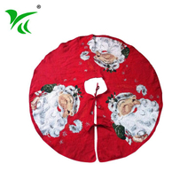 Customized inexpensive washable 36 inch christmas tree skirt on sale