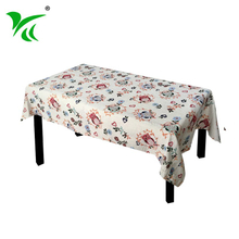 Hotel Restaurants tapestry cotton polyester embroidered tablecloth