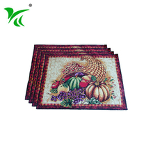 Alibaba suppliers best and coasters tapestry woven table placemat