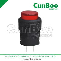 R16-503AB round push button switch with light