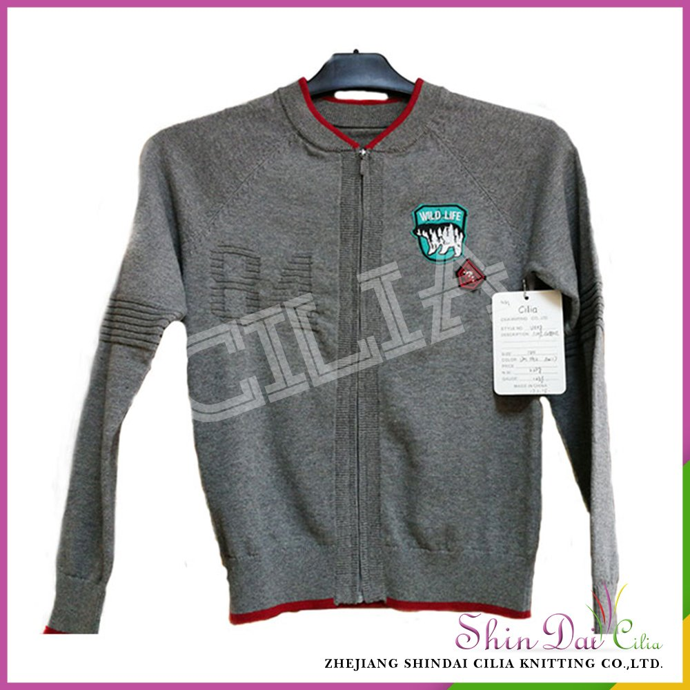 AA grade best price wholesale knitting patterns children sweater ...