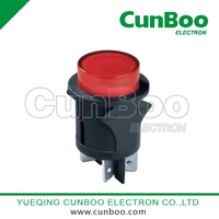 PS18-16 big round push button switch