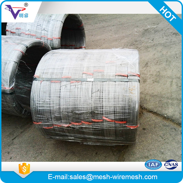 High tensile Hot dip Galvanized Oval wire for cattle fence - Buy ...