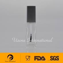 Hot selling new design nail polish bottle with cap and brush