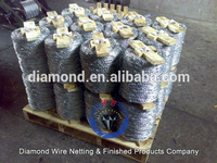 BWG14*14 galvanized barbed wire/ pvc coated barbed wire